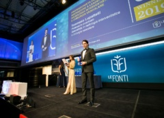 Dr.Tommaso Lupattelli  premio come eccellenza medica